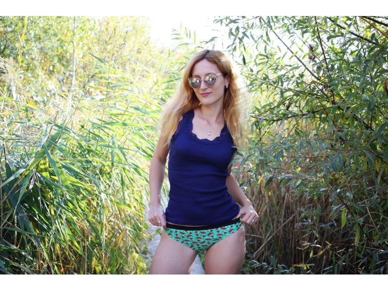 Women bikini watermelon