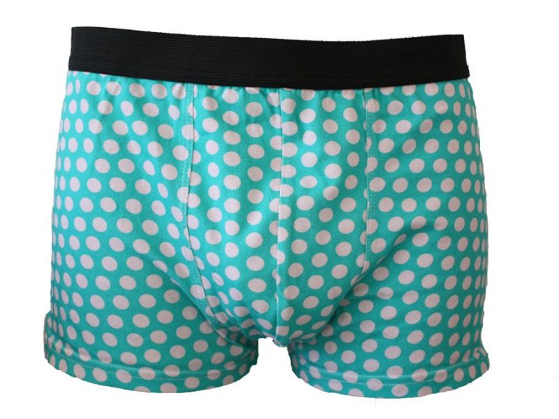 Colorful men boxers briefs