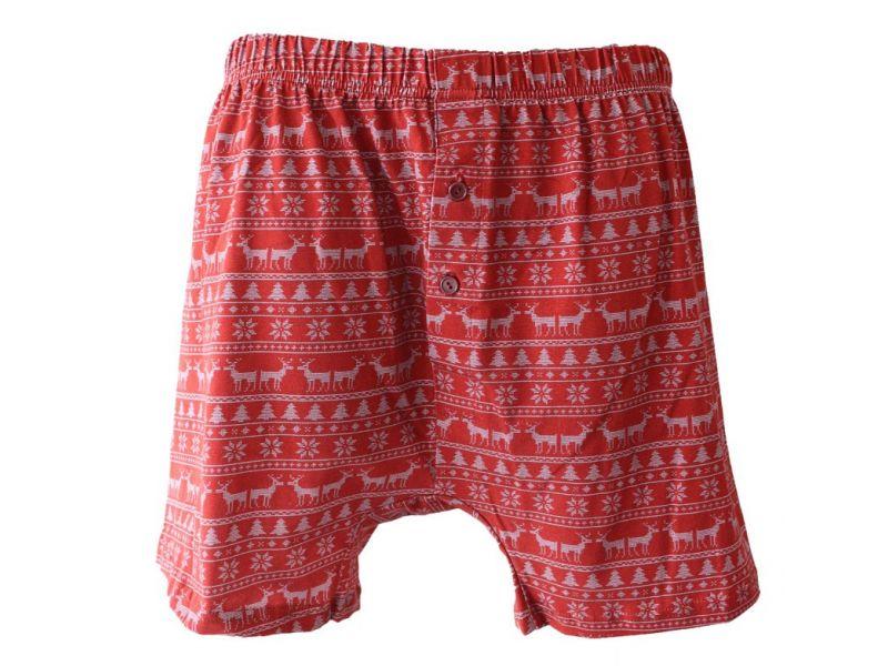 BeMine Christmas matching couple underwear for men. Christmas boxers.