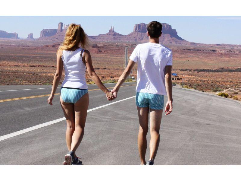 Matching couples underwear