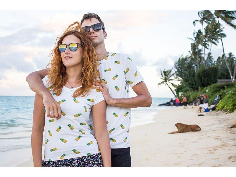 Ananasové párové trička