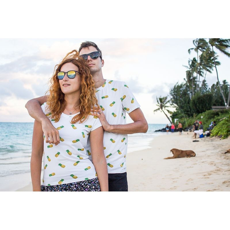 Pineapple Matching Couples T-Shirts
