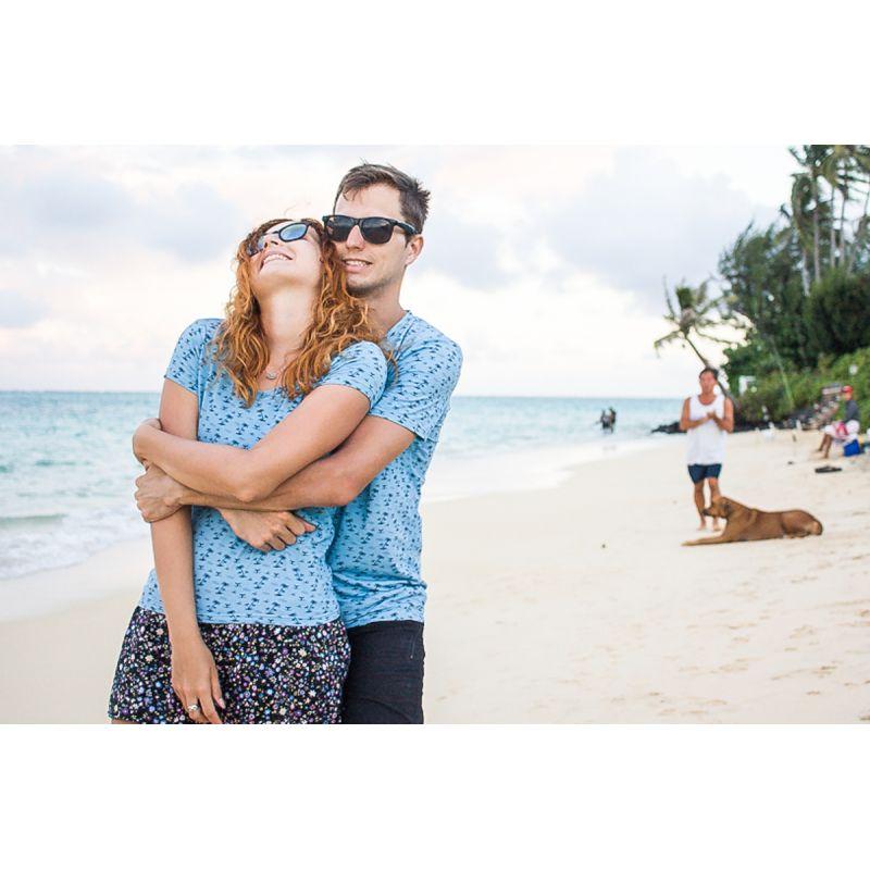 Palmové párové trčika na dovolenou