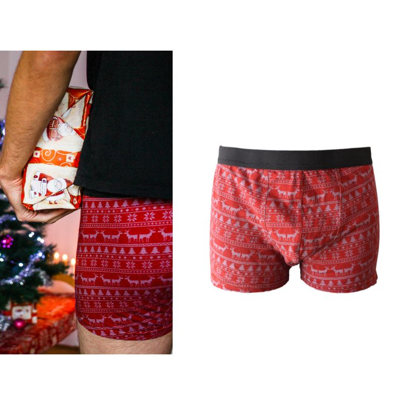 Christmas matching couple underwear