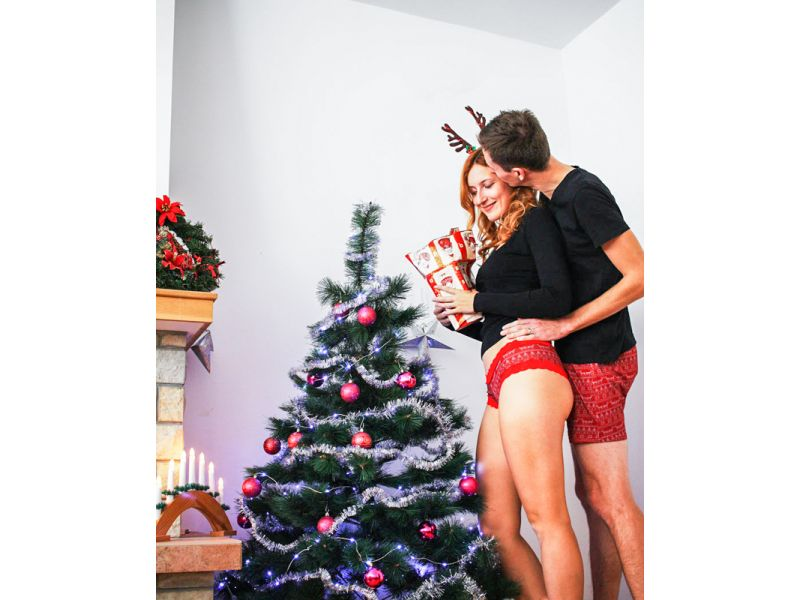 Christmas best couples underwear 2019. Christmas undies