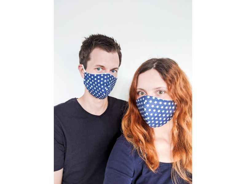 Gesichtsmaske, masque, mundschutz, mundschutz mit filtertasche