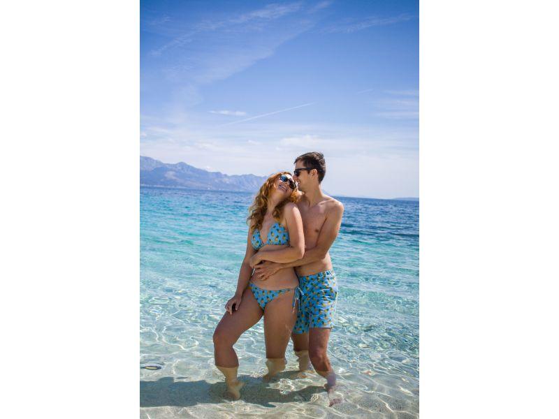 Couples matching swimwear