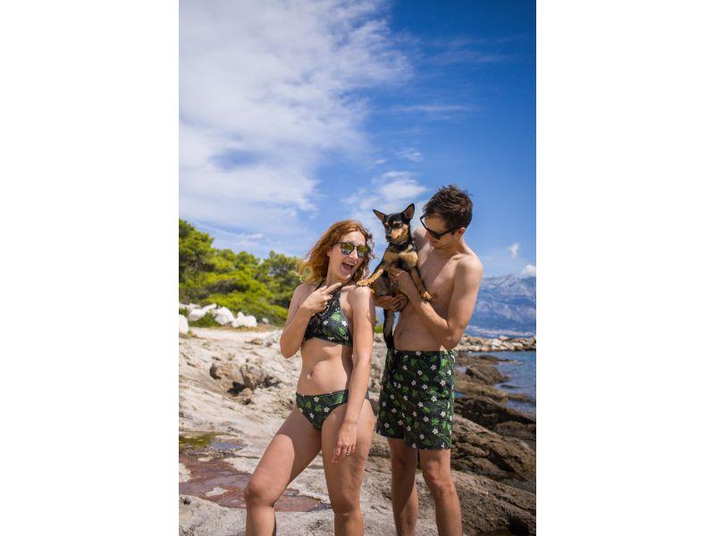 Pánské tropické plavky pro...