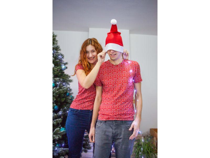 Nejlepší Vánoční párová trička se sobem