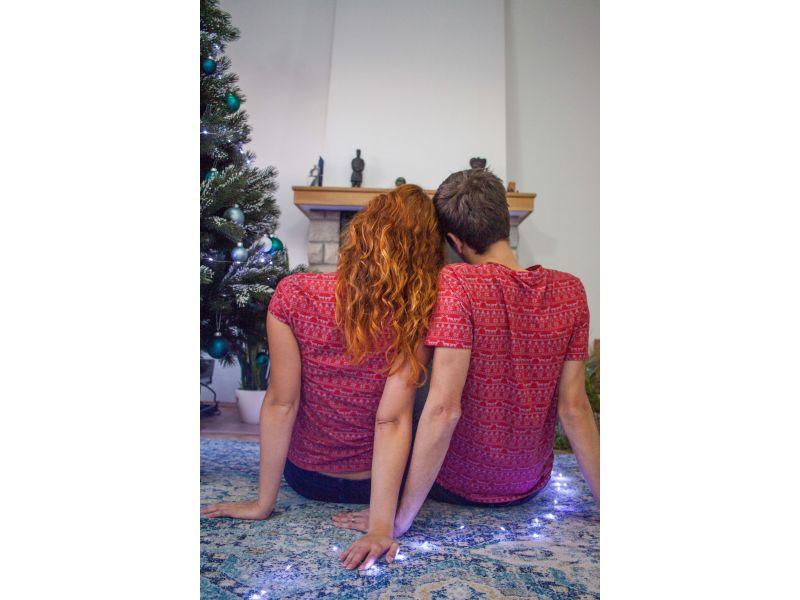 Christmas Matching Couple T-Shirts