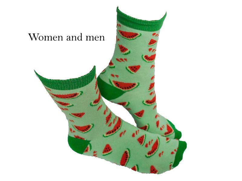 Melounové ponožky