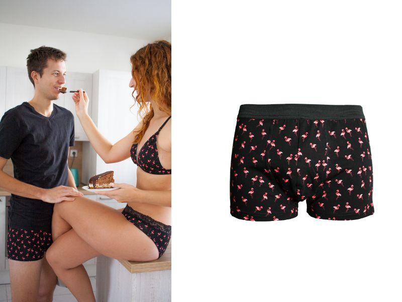 Men boxers briefs Flamingo